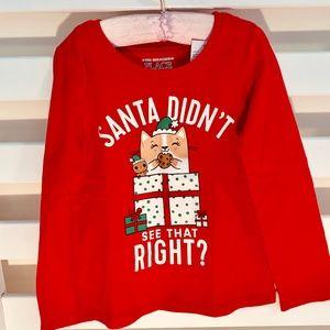 Christmas long sleeve T-shirt Ruby Red
